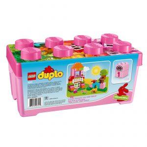 duplo 10571 pink alt i en boks