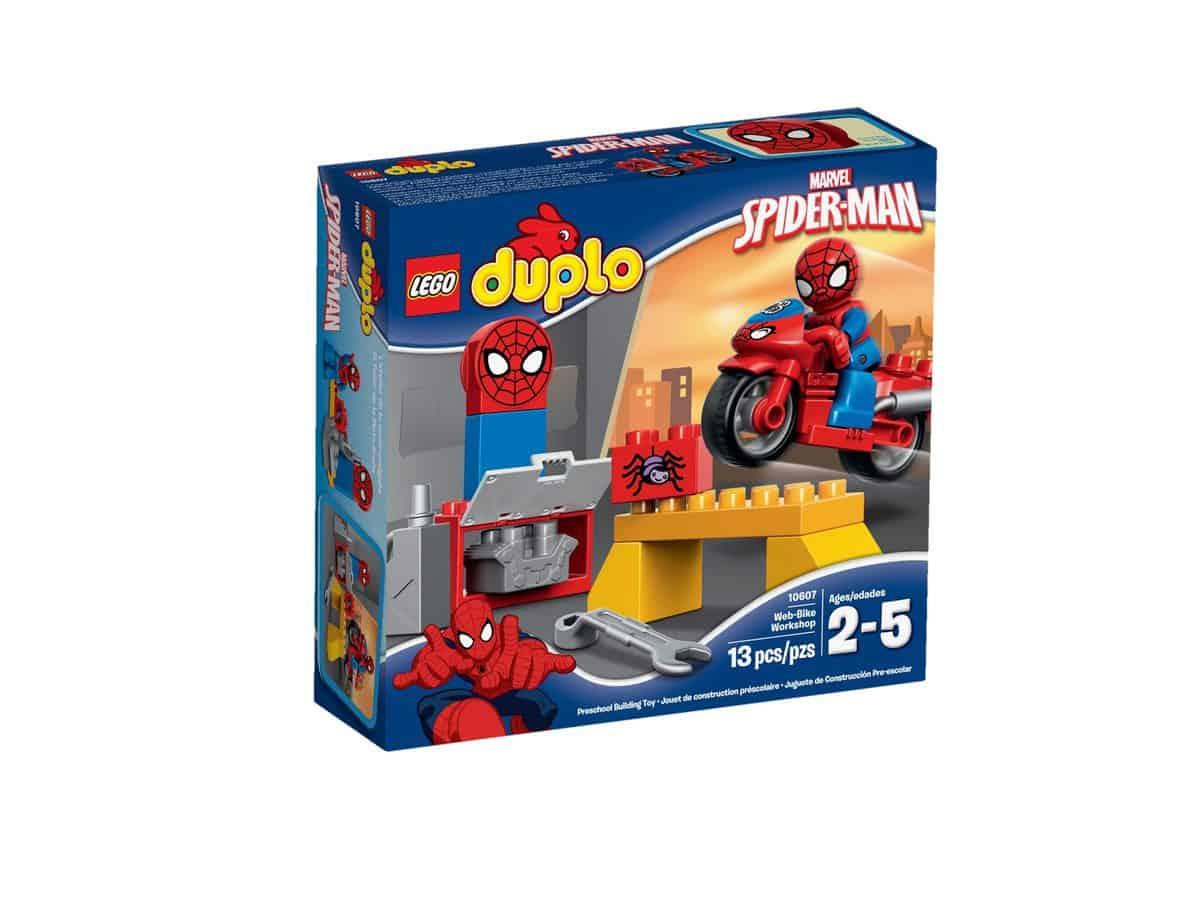 lego 10607 spider mans motorcykelvaerksted scaled