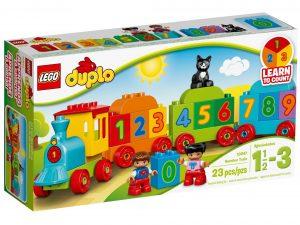 lego 10847 tog med tal