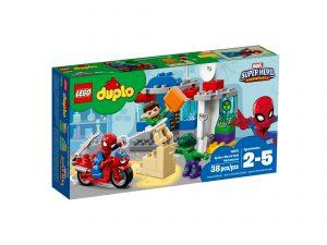 lego 10876 spider man og hulks eventyr