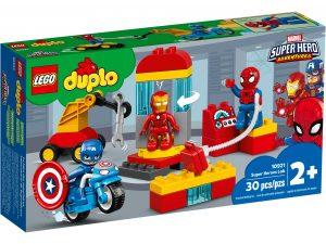 lego 10921 superhelte laboratorium