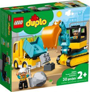 lego 10931 lastbil og gravemaskine pa larvefodder