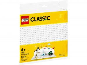 lego 11010 hvid byggeplade
