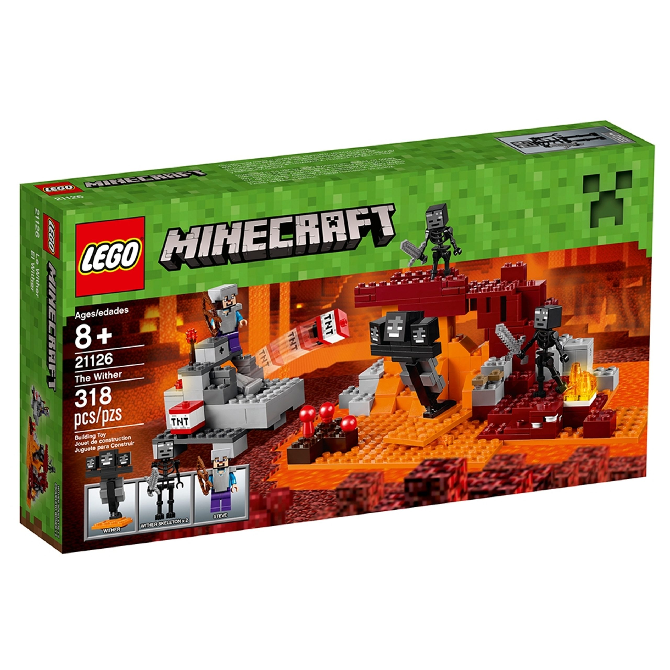 lego 21126 the wither scaled