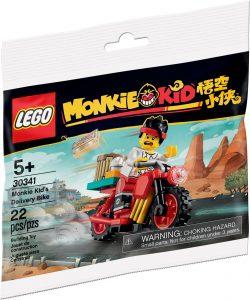 lego 30341 monkie kids budmotorcykel