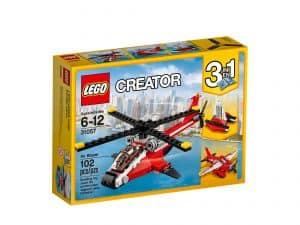 lego 31057 lynhurtig helikopter