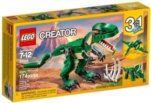 lego 31058 maegtige dinosaurer