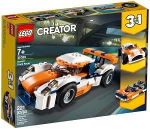 lego 31089 orange racerbil