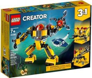 lego 31090 undervandsrobot
