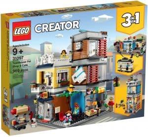 lego 31097 byhus med dyrehandel og cafe