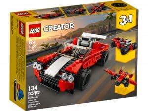 lego 31100 sportsvogn