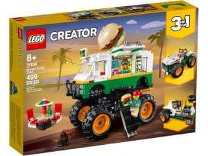 lego 31104 monsterburgervogn