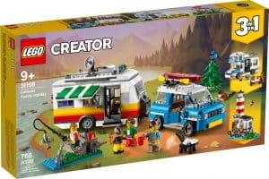 lego 31108 familieferie med campingvogn