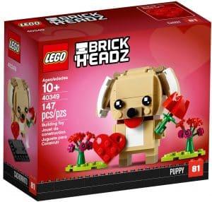 lego 40349 valentinshund