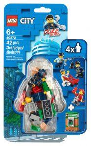 lego 40372 politisaet med minifigurer og tilbehor