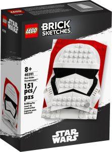 lego 40391 brick sketches stormsoldat fra den forste orden
