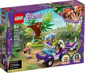 lego 41421 elefantunge redning i junglen