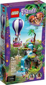 lego 41423 tiger ballonredning i junglen