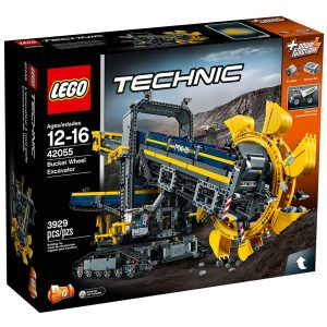 lego 42055 gravemaskine med skovlhjul