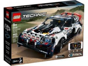 lego 42109 app styret top gear rallybil