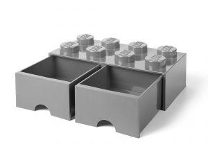 lego 5005720 8 knops mellemstengra opbevaringsklods med skuffe