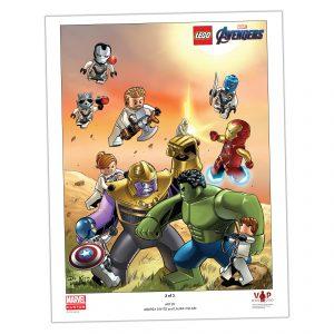 lego 5005881 avengers endgame plakat 2 af 3