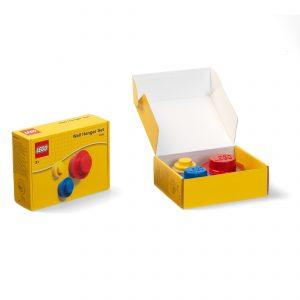lego 5005906 knagesaet i rod bla og gul