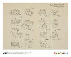 lego 5006004 britisk patenttegning 1968 1 udgave
