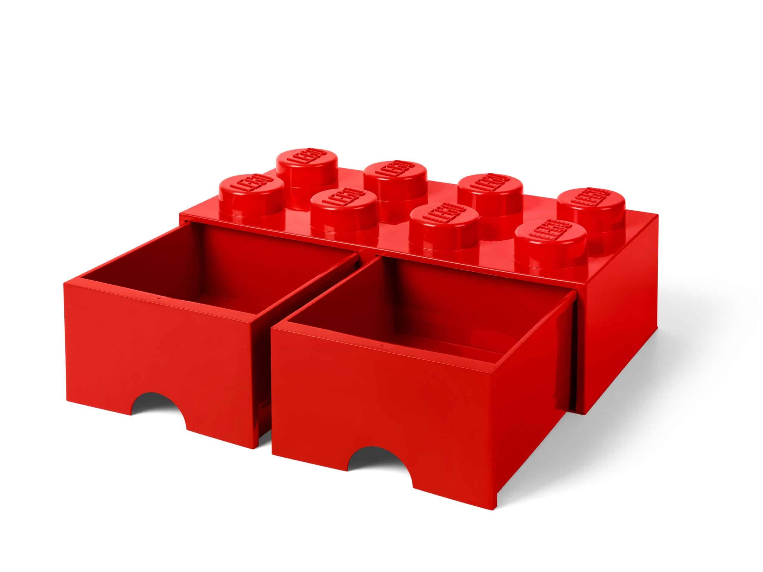 lego 5006131 8 knops rod opbevaringsklods med skuffer scaled