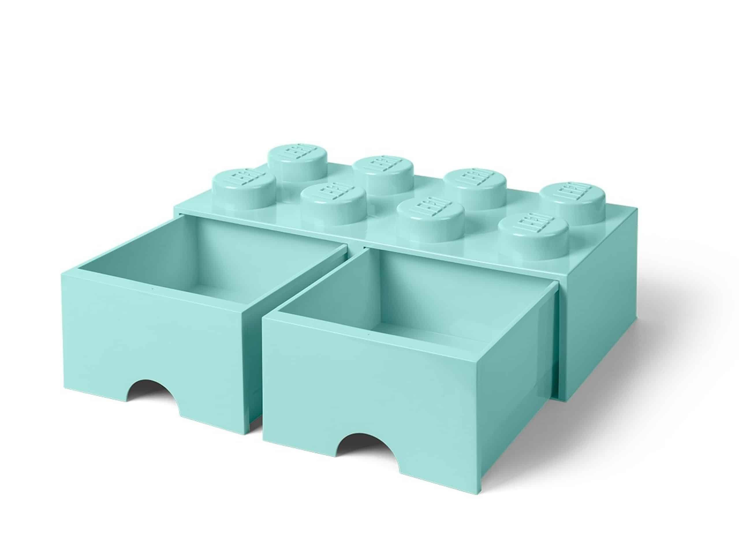 lego 5006182 8 knops akvamarinbla opbevaringsklods med skuffe scaled
