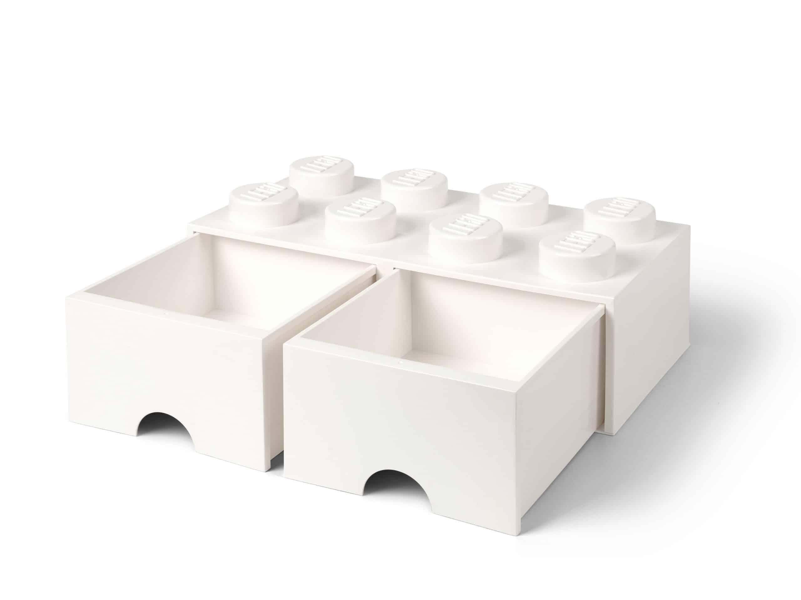 lego 5006209 8 knops hvid opbevaringsklods med skuffer scaled