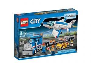 lego 60079 transportvogn med traeningsfly