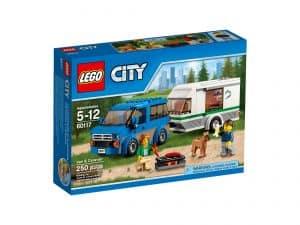 lego 60117 minibus og campingvogn