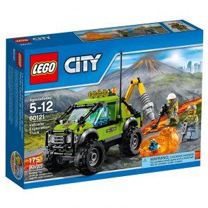lego 60121 vulkan ekspeditionslastbil