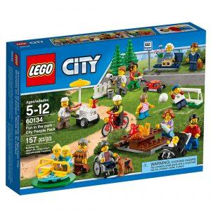 lego 60134 sjov i parken folk fra byen