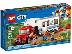 lego 60182 pickup og campingvogn