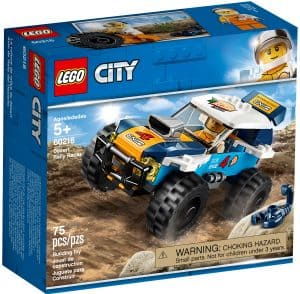 lego 60218 orken rallybil