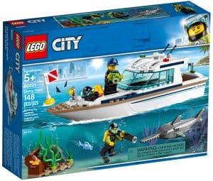 lego 60221 dykker yacht