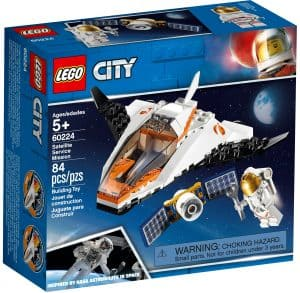 lego 60224 satellitservicemission
