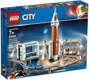 lego 60228 rumraket og affyringscenter