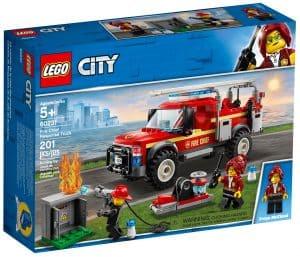 lego 60231 brandchefens pionervogn