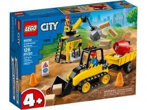 lego 60252 byggeplads med bulldozer