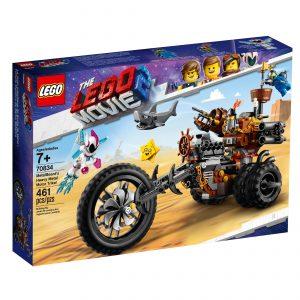 lego 70834 jernskaegs trehjulede metalmotorcykel