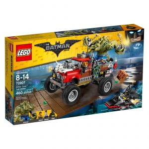 lego 70907 killer croc trafikknuser