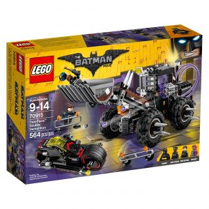 lego 70915 two face dobbelt nedrivning