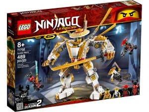 lego 71702 gylden robot