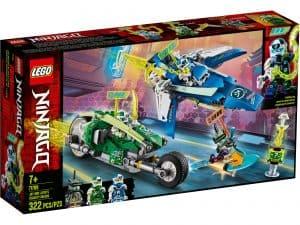 lego 71709 jay og lloyds superhurtige racere