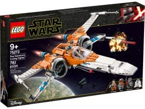lego 75273 poe damerons x wing jager