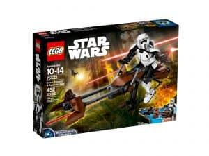 lego 75532 scout trooper og speederbike