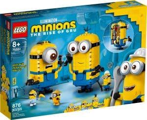 lego 75551 klodsbyggede minions og deres tilholdssted